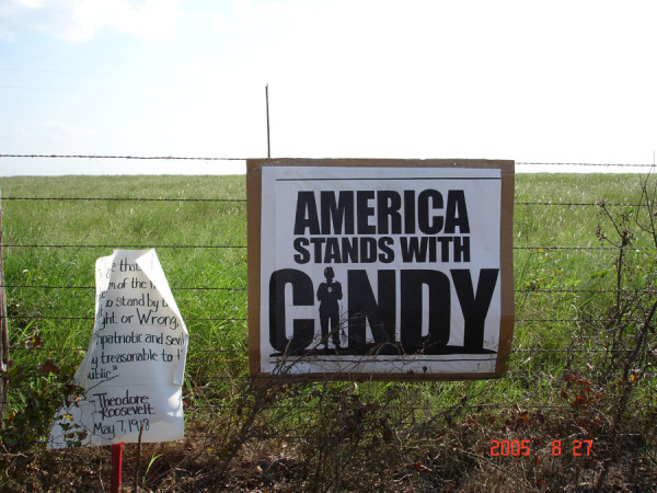 America stands with Cindy