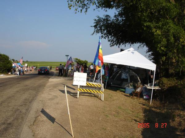 camp 1 ditch